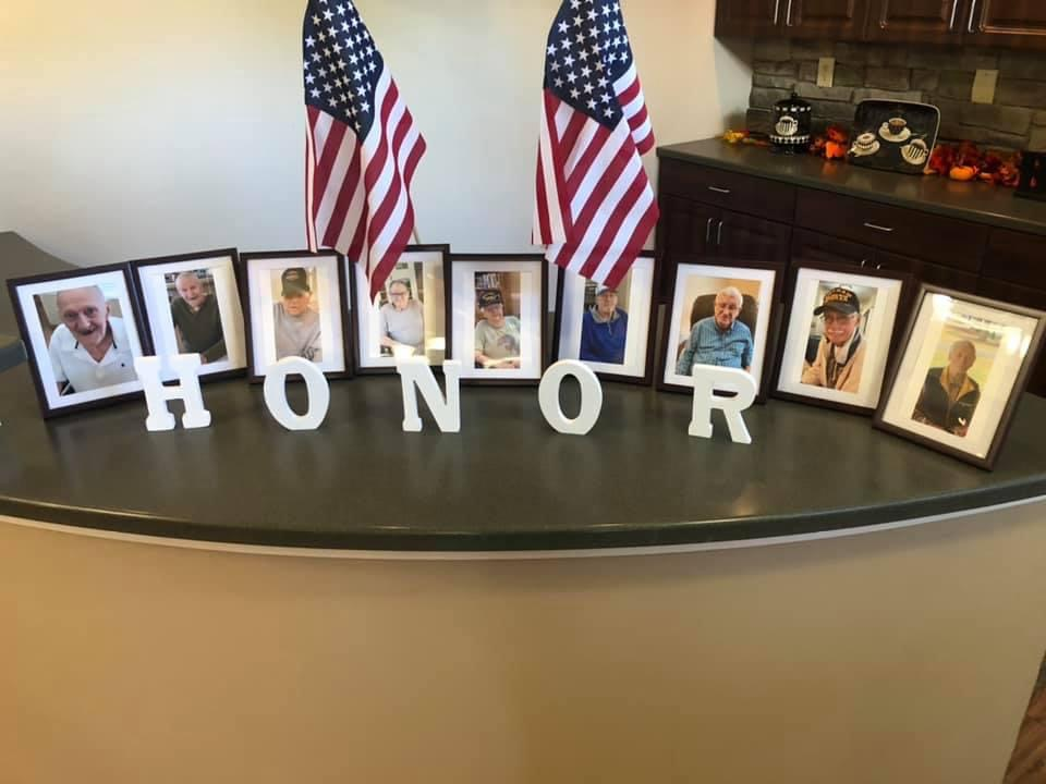 Veterans are honored at Alamance House